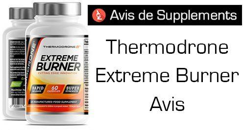 bruleur de graisse thermodrone