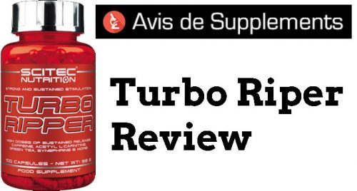 bruleur de graisse turbo ripper