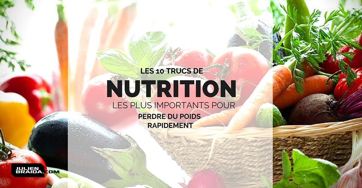 comment maigrir nutrition - Comment maigrir