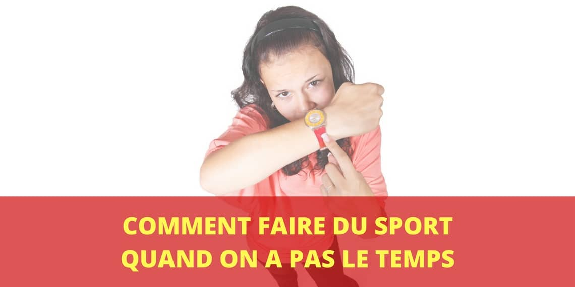 comment maigrir quand on a pas le temps de faire du sport