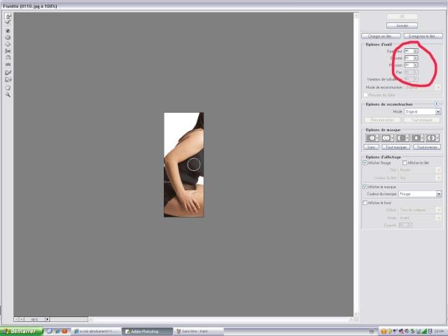 comment maigrir une personne avec photoshop