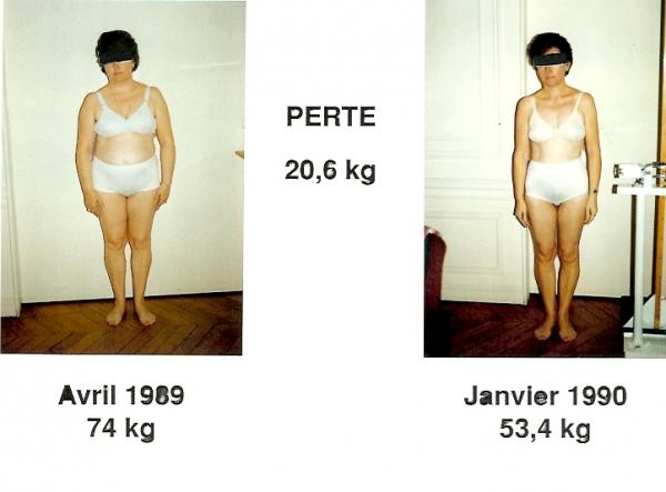 perdre du poids 20 kg