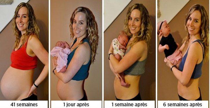 perdre du poids apres une grossesse
