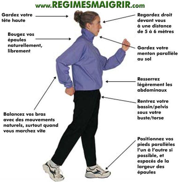 perdre du poids en marchant - Comment maigrir