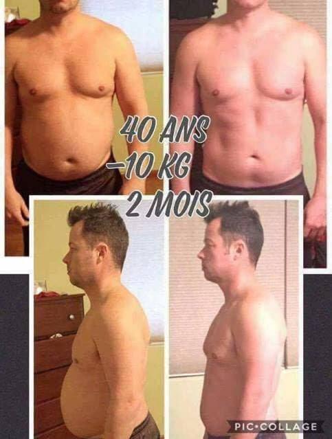 perdre du poids homme 40 ans