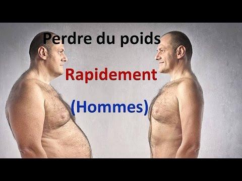 perdre du poids pour un homme