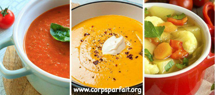 comment faire une soupe qui fait maigrir
