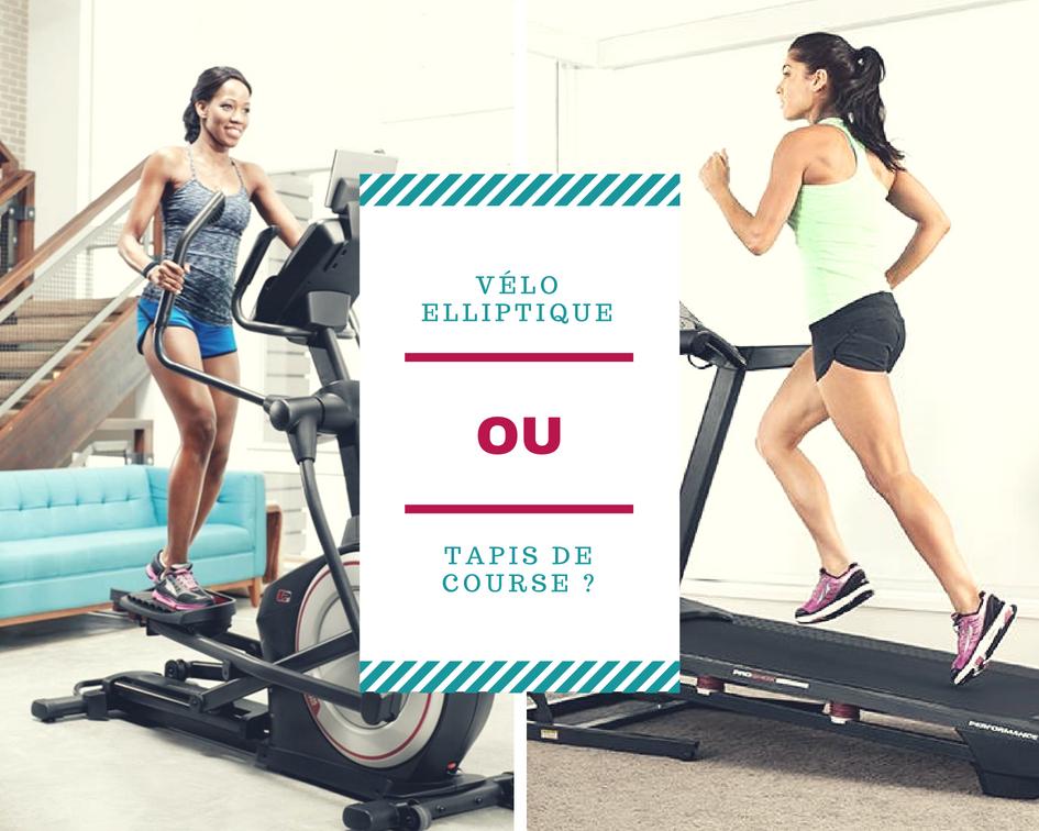 perdre du poids velo elliptique ou tapis de course