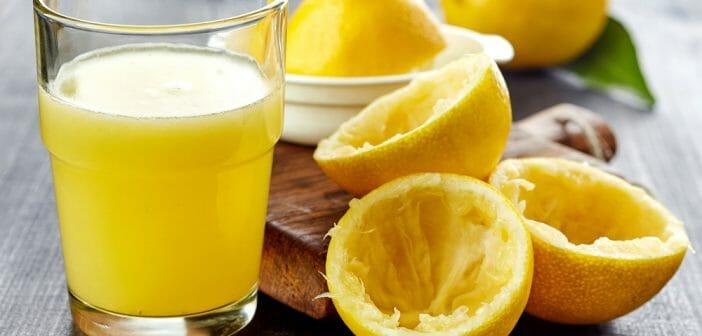 perdre du poids jus de citron - Comment maigrir