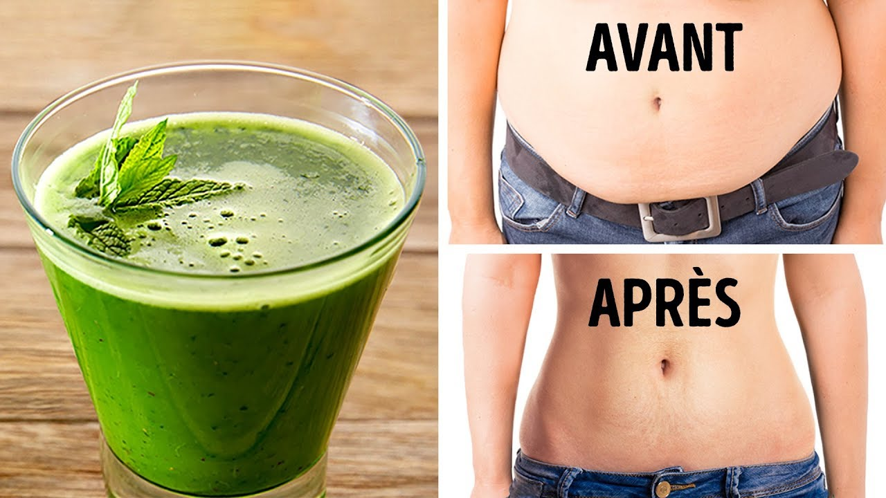 8 recettes pour perdre rapidement du ventre - Comment maigrir