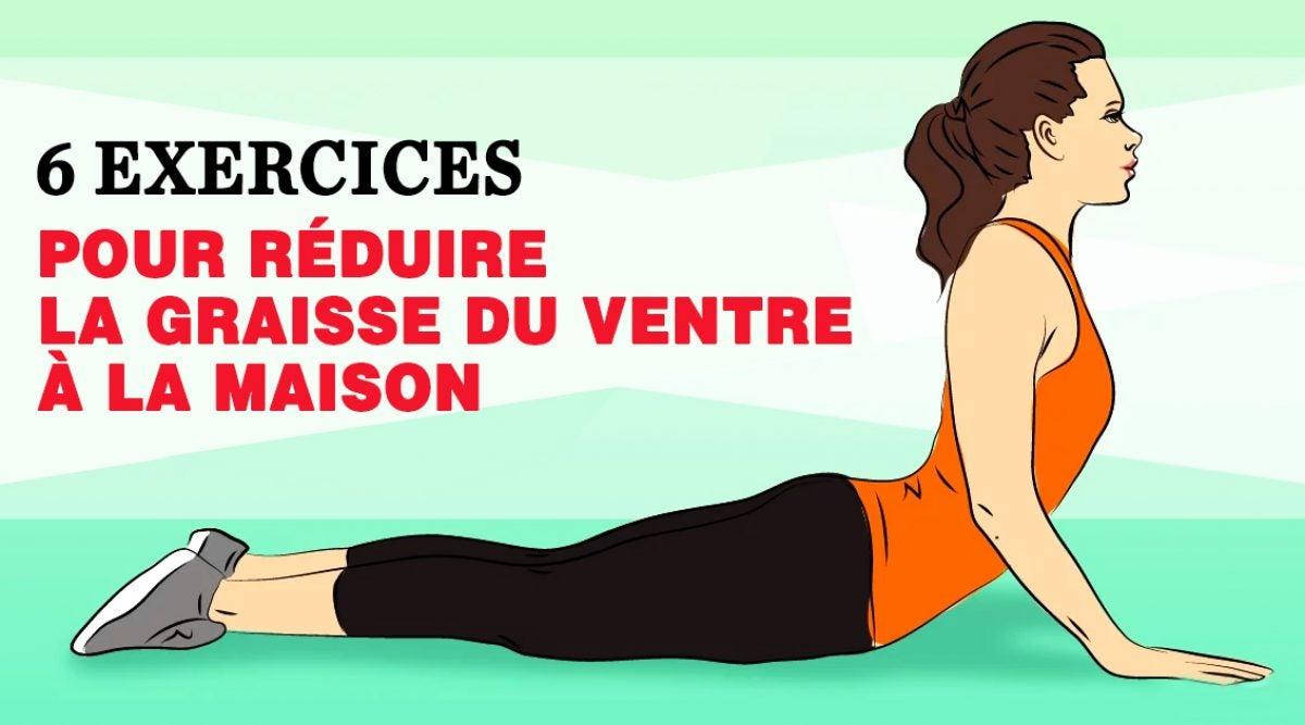 un exercice pour perdre du ventre - Comment maigrir